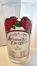 KENTUCKY DERBY 2001  127th  HORSE RACING GLASS - $9.46