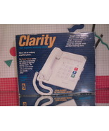 Walker Clarity Amplified Telephone - High Frequency Enhanced - Large Keypad - $15.50