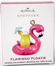 Hallmark  Flamingo Floatie  Miniature  Keepsake Ornament 2020 - $17.81
