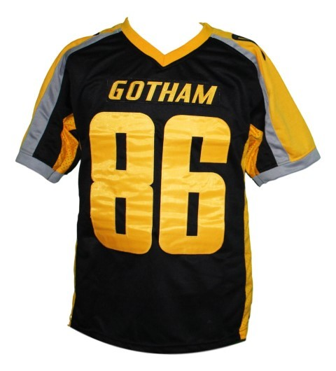 Hines Ward #86 Gotham Rogues The Dark Knight Men Football Jersey Black Any Size
