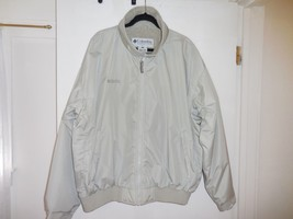 Columbia NEW beige soft shell fleece lined jacket sz XL - $46.39
