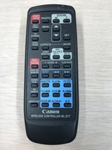 Canon WL-D77 Mini DV Camcorder Remote Control - Tested And Cleaned      ... - $6.99