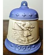 Vintage 1990 Goebel M J Hummel Christmas Bell~ Letter to Santa Claus - $12.86