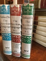 The American Language (Three Book Set) (Sixteenth Printing, August 1962,... - $33.61