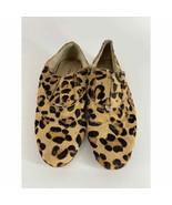 Steve Madden Cheetah Print Calf Hair Loafer Womens 7 - $20.00