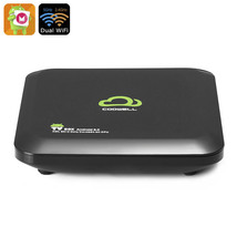 Coowell 4K TV Box - Android 6.0, Octa-Core CPU, Wi-Fi, Google Play, Kodi... - $87.99