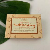 Bath & Body Works PEACH NECTAR Moisturizing Cleansing Bar 1.5 oz Vintage... - $7.91