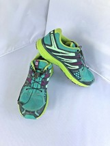 Salomon X Mission 3 Hiking Shoes Size 8 Breathable Running Contagrip Sensifit image 1