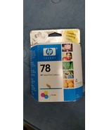 HP inkjet print cartridge 78 tri-color (C6578DN) - expired - $5.45