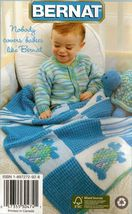 Knit Crochet Baby Blanket Hat Scarf Jacket Toy Pullover Patterns 6-24 Mo... - $12.99