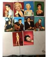 """Hollywood Movie Stars (10)UNPOSTED POSTCARDS """" - $46.75"""