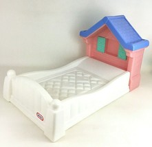 "Little Tikes Doll Baby Country Storybook Cottage Bed For 18"" Dolls Vintage 90s - $98.95"