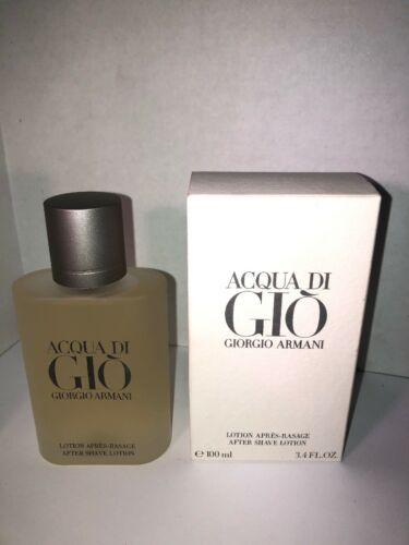 Acqua Di Gio by Giorgio Armani Men 3.4 oz After Shave Lotion New free shipping