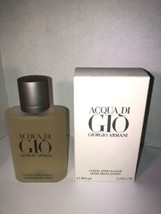 Acqua Di Gio by Giorgio Armani Men 3.4 oz After Shave Lotion New free sh... - $65.00