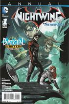 Nightwing Annual #1 NM+ 2013 DC Comics New 52 Batgirl Wanted 1st print B... - $5.83