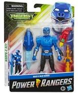 "Power Rangers BEAST-X BLUE RANGER Beast Morphers ""Morph-X"" Key Action Fi... - $13.59"