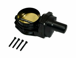92 MM 4 BOLT THROTTLE BODY LS ENGINE DRIVE BY WIRE Compatible W/ CHEVY GM BLACK image 2