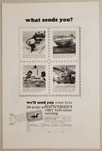 1966 Print Ad Johnson Outboard Motors, Boats, Skee-Horse Snowmobiles - $11.56