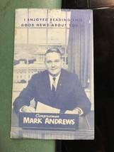political advertising Mark Andrews North Dakota Congressman autographed ... - $29.99