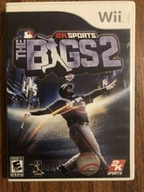 The Bigs 2 (Nintendo Wii, 2009) TESTED - Complete w/ Case & Manual CIB - $14.85