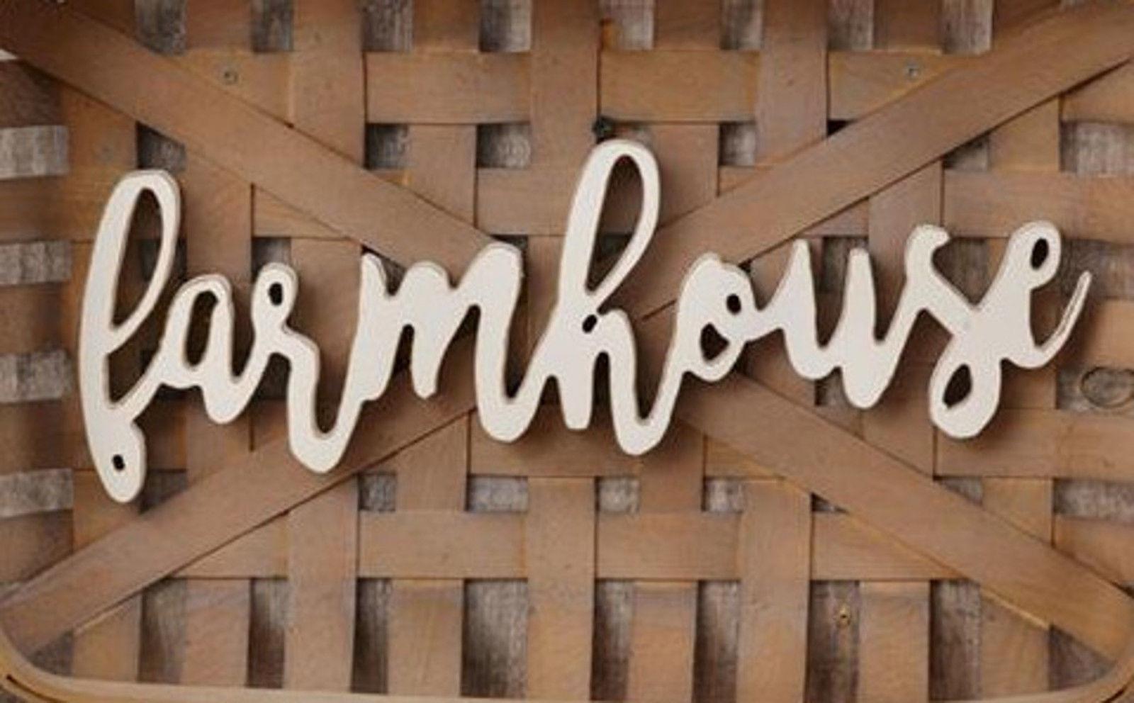Farmhouse Tobacco Basket Primitive Style Wooden Woven Basket Country Home Decor