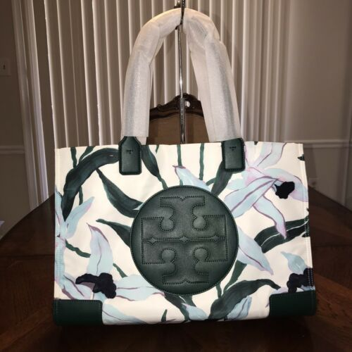 NWT Tory Burch Ella Tote in Desert Bloom pigment