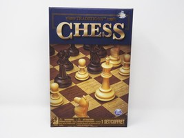 Spin Master Traditions Chess Board Game - New - $23.74