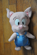 "10"" HAMTON PIG Plush Toy W/Tags Looney Tiny Tunes By Playskool Warner Bros 1990 - $39.99"