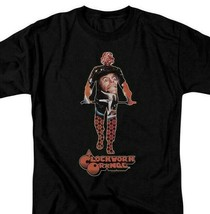 A Clockwork Orange Alex T-shirt retro 1970s cult movie poster Black WBM578 image 1