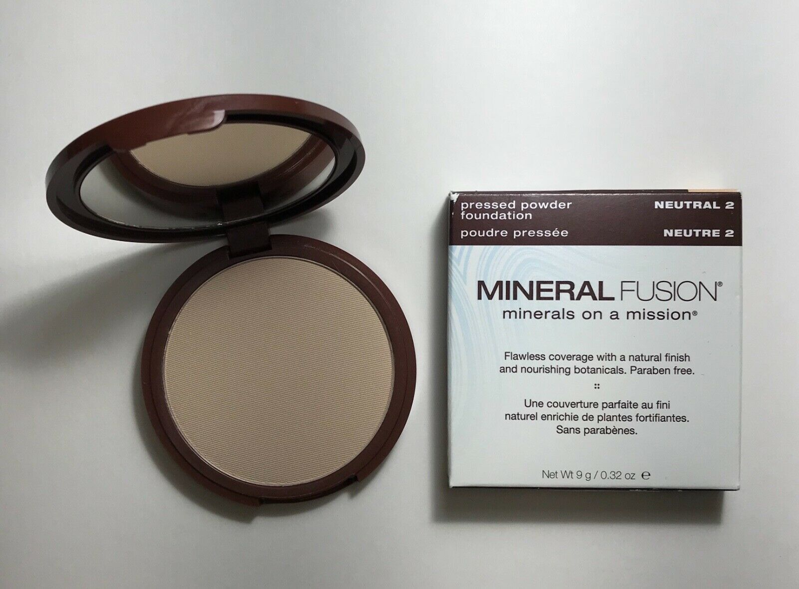 Primary image for Mineral Fusion Natural Brands Vegan Pressed Powder Foundation in color Neutral 2