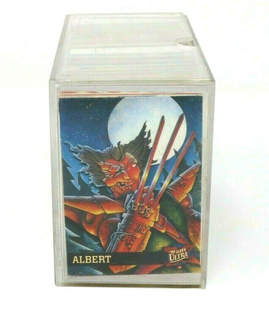 1994 & 1995  Marvel Fleer Ultra Tarding Card 150 Card Base Sets Both Complete NM