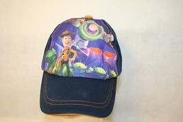 Disney Toy Story Woody Buzz Lightyear Aliens Adjustable Dark Blue Cap Hat - $17.95