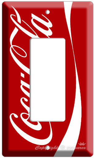 COKE COCA COLA DECORA LIGHT SWITCH COVER WALL PLATE VER