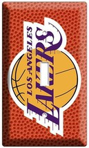 Los Angeles Lakers Nba Basketball Champions Single Light Switch Art Wall Cover - $8.99