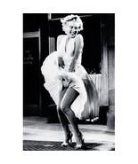 *Marilyn Monroe White Dress Wall Poster Art 08x10 Free Shipping - $11.00