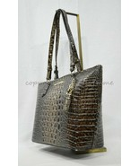 NWT Brahmin Medium Asher Embossed Leather Tote/Shoulder Bag in Chicory Melbourne - $249.00