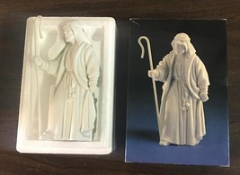 Avon Nativity Collectibles The Shepherd Porcelain Figurine 1983 In Box - $17.99