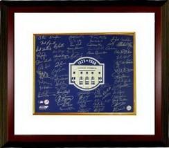 New York Yankees signed 16x20 Photo Custom Framed 2008 Yankee Stad Final... - $424.95
