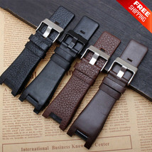 Luxury Leather Watch Strap Bracelet Genuine Watchband for Diesel Wristwa... - $19.99