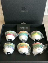 Versace by Rosenthal Set of 6 Mugs Small 0,08 L / 2.3 Oz Jungle Animali... - $311.85