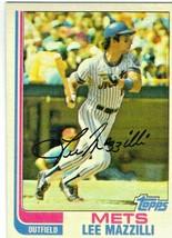 1982 Topps Lee Mazzilli New York Mets #465 Baseball Card - $1.97