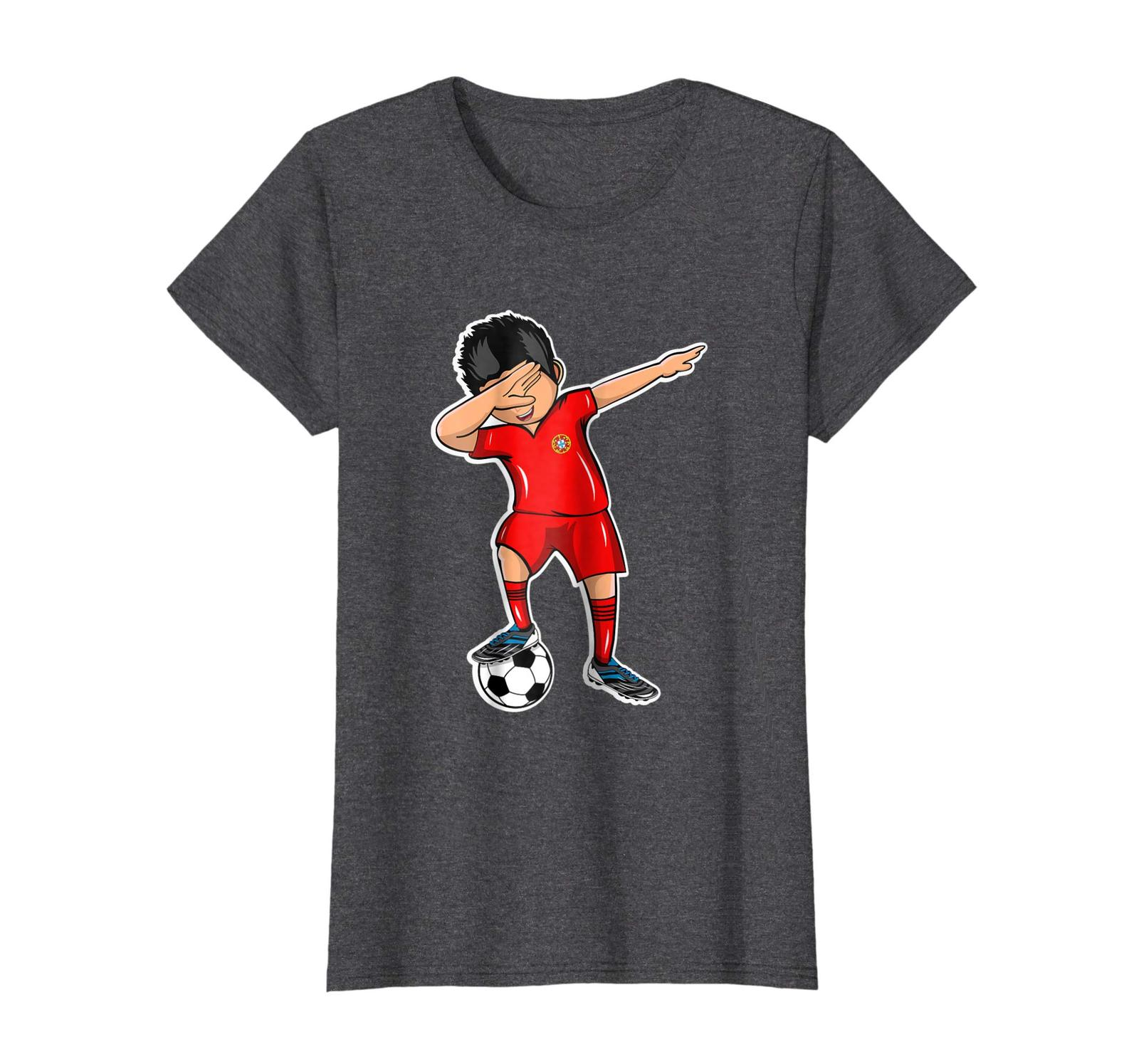 New Shirts - Dabbing Soccer Boy Portugal Jersey T Shirt Football Fan Wowen