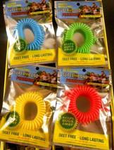 SuperBand Premium Insect Repellent Bracelet Lot of 35 Assorted Colors De... - $20.78