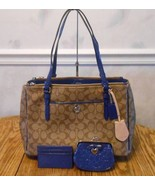 NWT Coach Sig Double Zip Carryall F24603 Khaki ... - $232.65