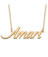 Amari Name Necklace for Best Friends Family Girl Friend Birthday Gifts - $13.99+