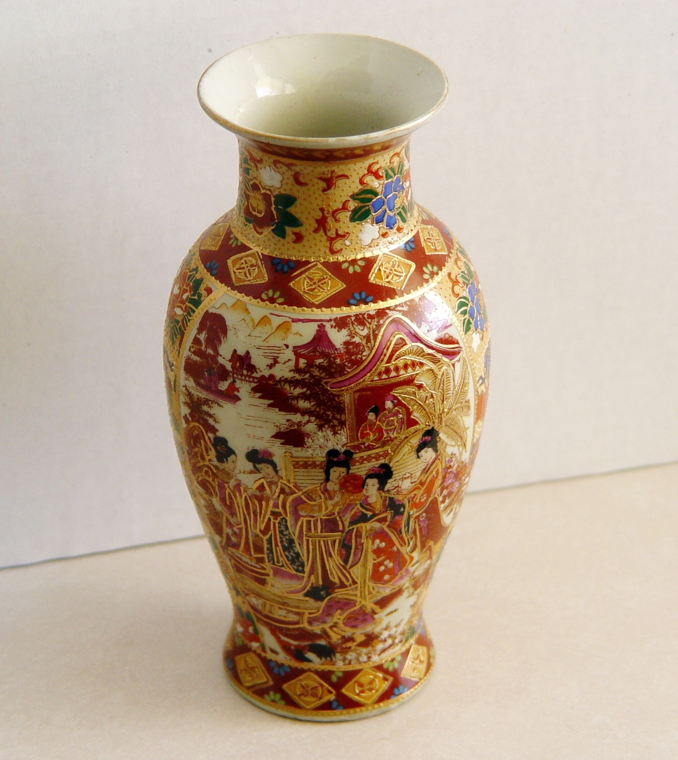 Early Porcelain Chinese Satsuma Vase