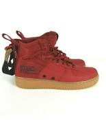 Nike SF AF1 Mid Dune Red Black Shoes Size 11 Men 917753 600 Air Force 1 ... - $107.79