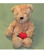 """GUND 16"""" EDIBLE ARRANGEMENTS BERRY BEAR STUFFED ANIMAL TEDDY WITH STRAWB... - $17.82"""
