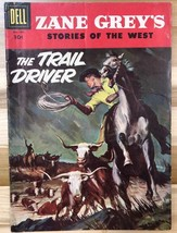 ZANE GREY'S STORIES OF THE WEST #32 (1957) Dell Comics VG+ - $9.89