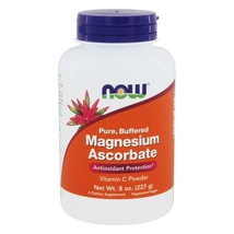 NOW Foods Magnesium Ascorbate Powder, 8 Ounces - $16.95